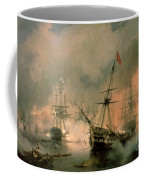 The Battle Of Navarino Coffee Mug