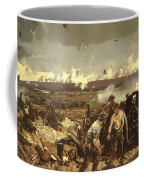 The Battle Of Vilmy Ridge Coffee Mug
