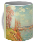 The Bay And The River Coffee Mug by Jean Baptiste Armand Guillaumin