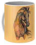The Bay Arabian Horse 9 Coffee Mug