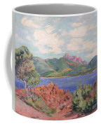 The Bay Of Agay Coffee Mug by Jean Baptiste Armand Guillaumin