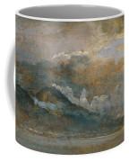 The Bay Of Naples With Vesuvius Coffee Mug