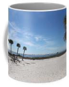 The Beach At The Isle Dauphine Coffee Mug