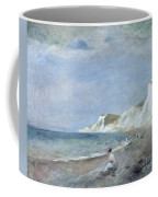 The Beach At Varangeville Coffee Mug by Renoir