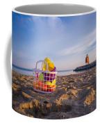 The Beach Is Calling Coffee Mug
