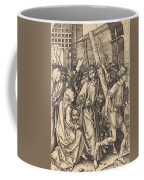 The Bearing Of The Cross With Saint Veronica Coffee Mug