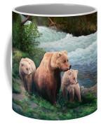 The Bears Of Katmai Coffee Mug