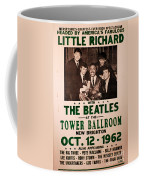 The Beatles And Little Richard Poster Collection 6 Coffee Mug