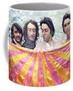 The Beatles. Watercolor Coffee Mug