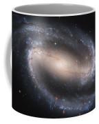 The Beautiful Barred Spiral Galaxy Ngc 1300 Coffee Mug