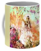 The Beautiful Black Bride Coffee Mug