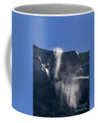 The Beautiful Bridalveil Falls Of Yosemite Coffee Mug
