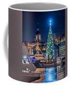 The Beautiful, Freshly Renovated Katarina Church And The Gigantic Christmas Tree In Stockholm Coffee Mug