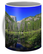 The Beautiful Nymph Lake With Reflection And Clear Water Coffee Mug