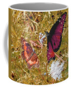 The Beauty Of Sharing - Gold Coffee Mug