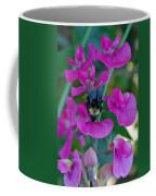 The Bee And The Flowers Coffee Mug