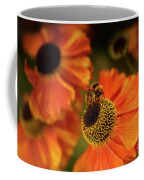 The Bee And The Helenium Coffee Mug