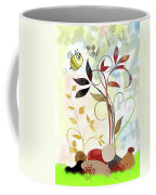 The Bee And The Ladybug Coffee Mug