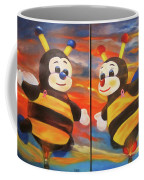 The Bees, Joey And Lilly Coffee Mug