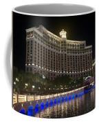 The Belagio A Night View Coffee Mug