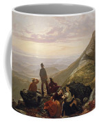 The Belated Party On Mansfield Mountain Coffee Mug