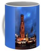 The Belfort Tower, Belfry, Bruges City, West Flanders Coffee Mug