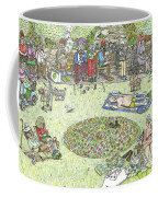 The Benchioner Zone Seafront Gardens Coffee Mug