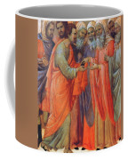 The Betrayal Of Judas Fragment 1311 Coffee Mug
