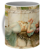 The Betrothed Coffee Mug by John William Godward