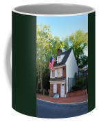 The Betsy Ross House Philadelphia Coffee Mug by Bill Cannon