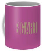 The Big Art - Fuchsia-dahlia On Yin-yang  Coffee Mug