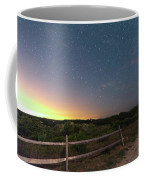 The Big Dipper Over The Lights Of Provincetown Ma Coffee Mug