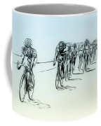 The Bike Race Coffee Mug
