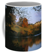 The Biltmore Estate Is Reflected Coffee Mug by Melissa Farlow