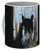 The Birch Horse Coffee Mug