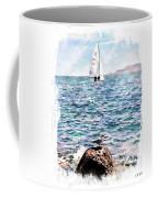 The Bird And The Sea Coffee Mug