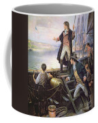 The Birth Of The Us National Anthem Coffee Mug