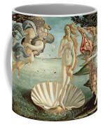 The Birth Of Venus Coffee Mug by Sandro Botticelli