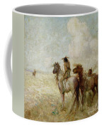 The Bison Hunters Coffee Mug by Nathaniel Hughes John Baird