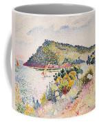 The Black Cape Pramousquier Bay Coffee Mug