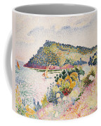 The Black Cape Pramousquier Bay Coffee Mug