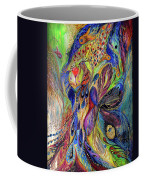 The Black Iris Coffee Mug