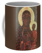 The Black Madonna Of Jasna Gora Coffee Mug by Russian School