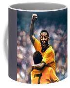 The Black Pearl Pele  Coffee Mug