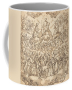 The Blessed In Paradise With The Virgin And St. John The Baptist Before God Coffee Mug