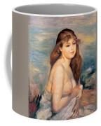 The Blonde Bather Coffee Mug