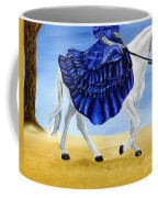 The Blue And The White - Princess Starliyah Riding Candis Coffee Mug