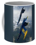 The Blue Angels Over Pensacola Beach Coffee Mug