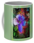 The Blue China Rose  Coffee Mug