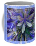 The Blue Flowers Of Melanie  Coffee Mug
